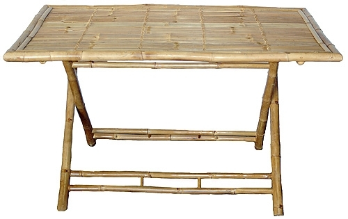 Bamboo Console Side Table