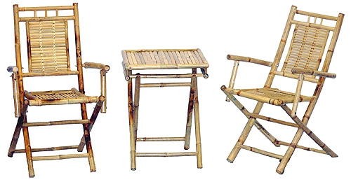 Bamboo Table Set
