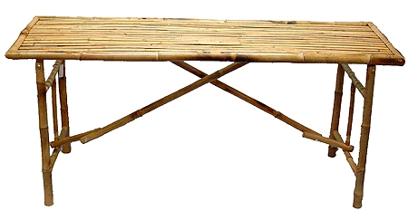 Bamboo Long Table