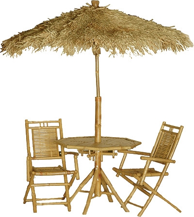 Bamboo Furniture Tables Tiki Bars