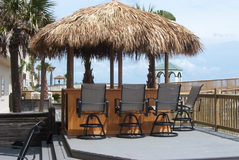 Tiki Bars Bamboo Furniture Cypress Huts