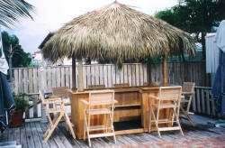Cypress Tiki Chairs