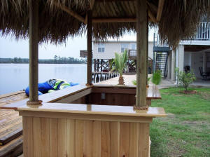 Amazing Cypress Pentagon Tiki Bar ...