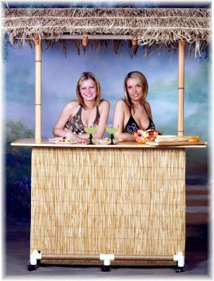 Portable Tiki Bar Tiki To Go Commercial Tiki Bar